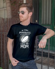 My favorite player calls me mom tshirt Classic T-Shirt lifestyle-mens-crewneck-front-2