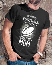 My favorite player calls me mom tshirt Classic T-Shirt lifestyle-mens-crewneck-front-4