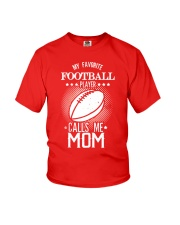 My favorite player calls me mom tshirt Youth T-Shirt tile