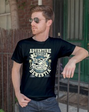 Shirt Biker Adventure Before Dementia Old Man Classic T-Shirt lifestyle-mens-crewneck-front-2