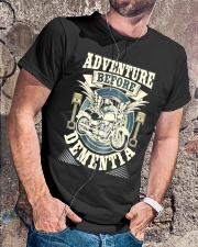 Shirt Biker Adventure Before Dementia Old Man Classic T-Shirt lifestyle-mens-crewneck-front-4