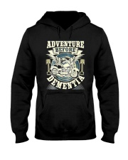 Shirt Biker Adventure Before Dementia Old Man Hooded Sweatshirt tile