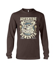 Shirt Biker Adventure Before Dementia Old Man Long Sleeve Tee tile