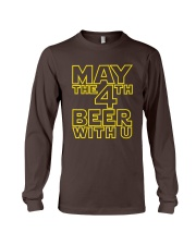 May the 4th Beer with u Funny Long Sleeve Tee thumbnail