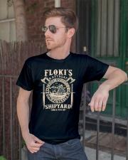 Flokis Shipyard Kattegat Viking Classic T-Shirt lifestyle-mens-crewneck-front-2
