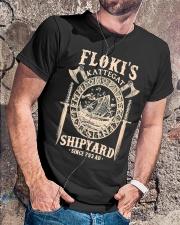 Flokis Shipyard Kattegat Viking Classic T-Shirt lifestyle-mens-crewneck-front-4