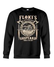 Flokis Shipyard Kattegat Viking Crewneck Sweatshirt thumbnail