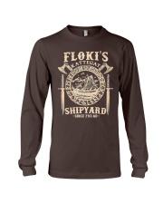 Flokis Shipyard Kattegat Viking Long Sleeve Tee thumbnail