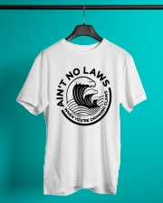 Trevor Wallace White Claw Shirt Ain't No Laws Classic T-Shirt lifestyle-mens-crewneck-front-3