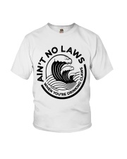 Trevor Wallace White Claw Shirt Ain't No Laws Youth T-Shirt thumbnail