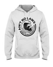 Trevor Wallace White Claw Shirt Ain't No Laws Hooded Sweatshirt thumbnail
