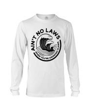 Trevor Wallace White Claw Shirt Ain't No Laws Long Sleeve Tee thumbnail