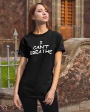 I Can't Breathe T-Shirt George Floyd  Classic T-Shirt apparel-classic-tshirt-lifestyle-06