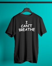 I Can't Breathe T-Shirt George Floyd  Classic T-Shirt lifestyle-mens-crewneck-front-3