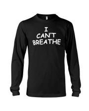 I Can't Breathe T-Shirt George Floyd  Long Sleeve Tee thumbnail