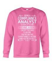Compliance Analyst Crewneck Sweatshirt thumbnail