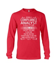 Compliance Analyst Long Sleeve Tee thumbnail