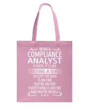 Compliance Analyst Tote Bag thumbnail