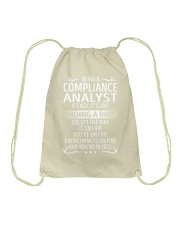 Compliance Analyst Drawstring Bag thumbnail