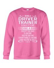 Driver Trainer Crewneck Sweatshirt thumbnail