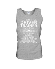 Driver Trainer Unisex Tank thumbnail