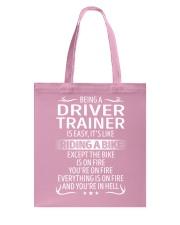 Driver Trainer Tote Bag thumbnail