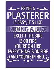 Plasterer 11x17 Poster thumbnail