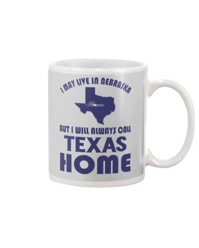 Live in Nebraska But Call Texas Home