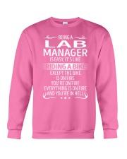 Lab Manager Crewneck Sweatshirt thumbnail