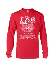 Lab Manager Long Sleeve Tee thumbnail