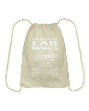 Lab Manager Drawstring Bag thumbnail