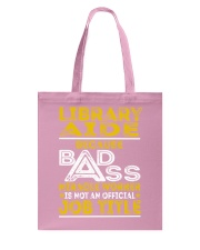 Library Aide - Miracle Worker Job Title Tote Bag thumbnail