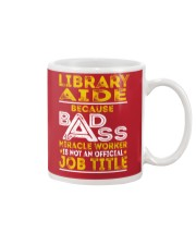 Library Aide - Miracle Worker Job Title Mug tile