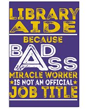 Library Aide - Miracle Worker Job Title 11x17 Poster thumbnail