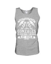 GONZALES - Veins Name Shirts Unisex Tank thumbnail