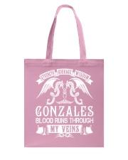 GONZALES - Veins Name Shirts Tote Bag thumbnail