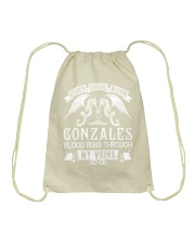 GONZALES - Veins Name Shirts Drawstring Bag thumbnail