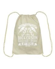 DICKERSON - Veins Name Shirts Drawstring Bag thumbnail