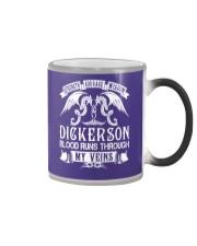 DICKERSON - Veins Name Shirts Color Changing Mug thumbnail