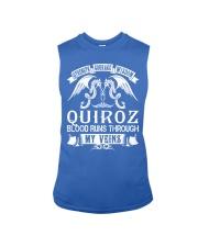 QUIROZ - Veins Name Shirts Sleeveless Tee thumbnail