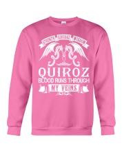 QUIROZ - Veins Name Shirts Crewneck Sweatshirt thumbnail