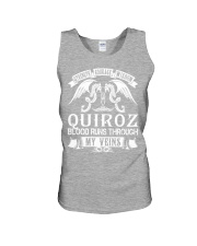 QUIROZ - Veins Name Shirts Unisex Tank thumbnail