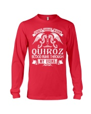 QUIROZ - Veins Name Shirts Long Sleeve Tee thumbnail