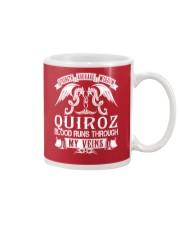 QUIROZ - Veins Name Shirts Mug thumbnail