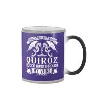 QUIROZ - Veins Name Shirts Color Changing Mug thumbnail