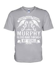 MURPHY - Veins Name Shirts V-Neck T-Shirt thumbnail