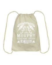 MURPHY - Veins Name Shirts Drawstring Bag thumbnail