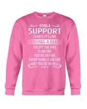 Support Crewneck Sweatshirt thumbnail