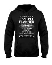 Event Planner Hooded Sweatshirt front