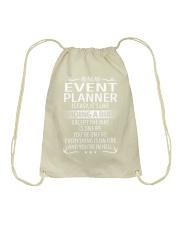 Event Planner Drawstring Bag thumbnail